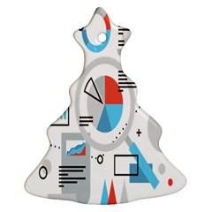 Science Mathematics Formula Ornament (christmas Tree)  by Mariart