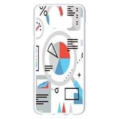 Science Mathematics Formula Samsung Galaxy S8 Plus White Seamless Case by Mariart