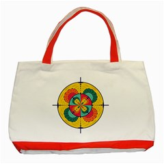 Color Scope Classic Tote Bag (red) by linceazul