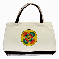 Color Scope Basic Tote Bag (two Sides) by linceazul