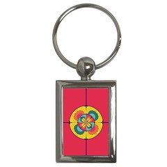 Color Scope Key Chains (rectangle)  by linceazul