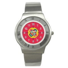 Color Scope Stainless Steel Watch by linceazul