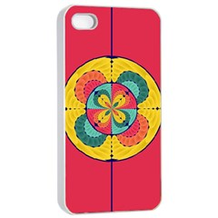 Color Scope Apple Iphone 4/4s Seamless Case (white) by linceazul