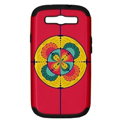Color Scope Samsung Galaxy S Iii Hardshell Case (pc+silicone) by linceazul