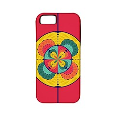Color Scope Apple Iphone 5 Classic Hardshell Case (pc+silicone) by linceazul