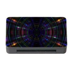 Psychic Color Circle Abstract Dark Rainbow Pattern Wallpaper Memory Card Reader With Cf by Mariart
