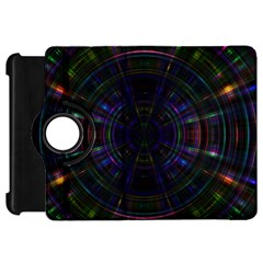 Psychic Color Circle Abstract Dark Rainbow Pattern Wallpaper Kindle Fire Hd 7  by Mariart