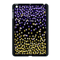 Space Star Light Gold Blue Beauty Apple Ipad Mini Case (black) by Mariart