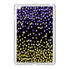 Space Star Light Gold Blue Beauty Apple Ipad Mini Case (white) by Mariart
