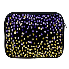 Space Star Light Gold Blue Beauty Apple Ipad 2/3/4 Zipper Cases by Mariart