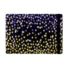 Space Star Light Gold Blue Beauty Ipad Mini 2 Flip Cases by Mariart