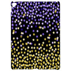 Space Star Light Gold Blue Beauty Apple Ipad Pro 12 9   Hardshell Case by Mariart