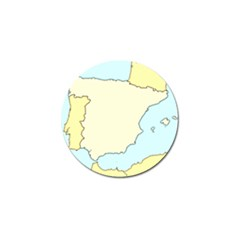 Spain Map Modern Golf Ball Marker (10 Pack) by Mariart