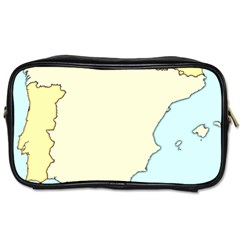 Spain Map Modern Toiletries Bags 2 Side by Mariart