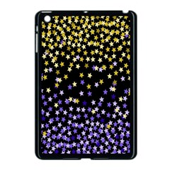 Space Star Light Gold Blue Beauty Black Apple Ipad Mini Case (black) by Mariart