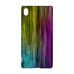 Rainbow Bubble Curtains Motion Background Space Sony Xperia Z3+ by Mariart