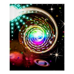 Space Star Planet Light Galaxy Moon Shower Curtain 60  X 72  (medium)  by Mariart