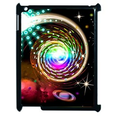 Space Star Planet Light Galaxy Moon Apple Ipad 2 Case (black) by Mariart