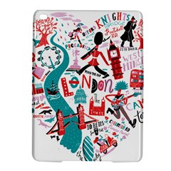 London Illustration City Ipad Air 2 Hardshell Cases by Mariart
