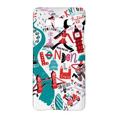 London Illustration City Samsung Galaxy A5 Hardshell Case  by Mariart