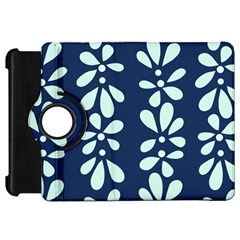 Star Flower Floral Blue Beauty Polka Kindle Fire Hd 7  by Mariart