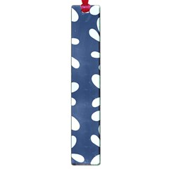Star Flower Floral Blue Beauty Polka Large Book Marks by Mariart