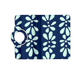 Star Flower Floral Blue Beauty Polka Kindle Fire Hd (2013) Flip 360 Case by Mariart