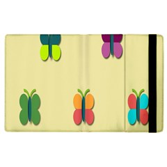 Spring Butterfly Wallpapers Beauty Cute Funny Apple Ipad 3/4 Flip Case by Mariart