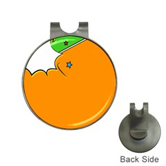 Star Line Orange Green Simple Beauty Cute Hat Clips With Golf Markers by Mariart