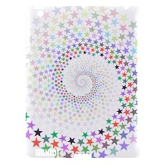 Prismatic Stars Whirlpool Circlr Rainbow Apple Ipad 3/4 Hardshell Case (compatible With Smart Cover) by Mariart