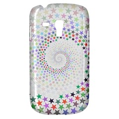 Prismatic Stars Whirlpool Circlr Rainbow Galaxy S3 Mini by Mariart