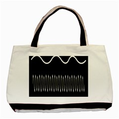 Style Line Amount Wave Chevron Basic Tote Bag by Mariart
