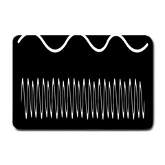 Style Line Amount Wave Chevron Small Doormat  by Mariart