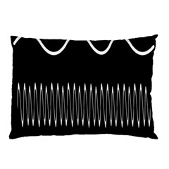 Style Line Amount Wave Chevron Pillow Case by Mariart