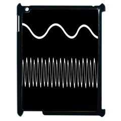 Style Line Amount Wave Chevron Apple Ipad 2 Case (black) by Mariart