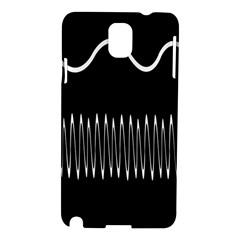 Style Line Amount Wave Chevron Samsung Galaxy Note 3 N9005 Hardshell Case by Mariart