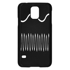 Style Line Amount Wave Chevron Samsung Galaxy S5 Case (black) by Mariart