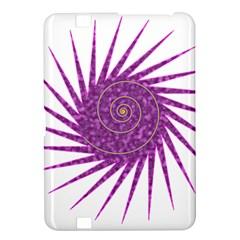 Spiral Purple Star Polka Kindle Fire Hd 8 9  by Mariart