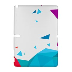 Triangle Chevron Colorfull Galaxy Note 1 by Mariart