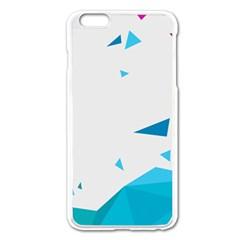 Triangle Chevron Colorfull Apple Iphone 6 Plus/6s Plus Enamel White Case by Mariart
