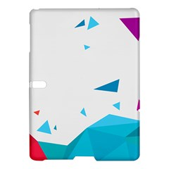 Triangle Chevron Colorfull Samsung Galaxy Tab S (10 5 ) Hardshell Case  by Mariart