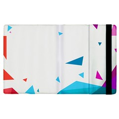 Triangle Chevron Colorfull Apple Ipad Pro 12 9   Flip Case by Mariart