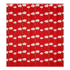 Sunflower Red Star Beauty Flower Floral Shower Curtain 66  X 72  (large)  by Mariart