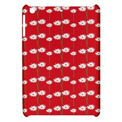 Sunflower Red Star Beauty Flower Floral Apple Ipad Mini Hardshell Case by Mariart