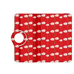 Sunflower Red Star Beauty Flower Floral Kindle Fire Hdx 8 9  Flip 360 Case by Mariart