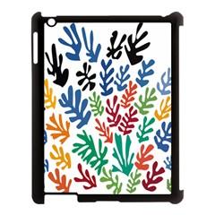 The Wreath Matisse Beauty Rainbow Color Sea Beach Apple Ipad 3/4 Case (black) by Mariart