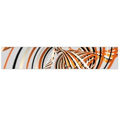 Splines Line Circle Brown Flano Scarf (large) by Mariart