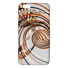 Splines Line Circle Brown Iphone 6 Plus/6s Plus Tpu Case by Mariart