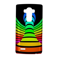Twisted Motion Rainbow Colors Line Wave Chevron Waves Lg G4 Hardshell Case by Mariart
