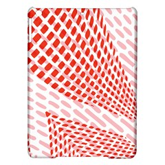 Waves Wave Learning Connection Polka Red Pink Chevron Ipad Air Hardshell Cases by Mariart